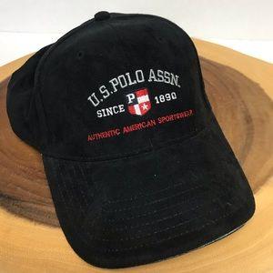 U.S.Polo Assn. FauxSuede Baseball Cap 🧢